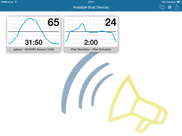 Available Boat Devices View